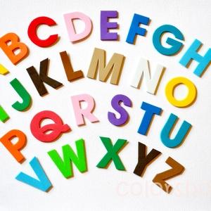 Betűk, ABC, iskola - Játék és tanulás - 26 dekorgumi forma, Gyerek & játék, Baba-mama kellék, Játék, Készségfejlesztő játék, Mindenmás, Az ABC összes ékezet nélküli betűje.\n\nEgyszerű de nagyszerű kis játék, ami segít a betűk megismerésé..., Meska