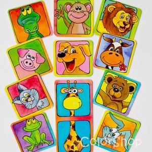 Állatos hűtőmágnes készlet 11 db-os, Gyerek & játék, Konyhafelszerelés, Otthon & lakás, Hűtőmágnes, Gyerekszoba, Fotó, grafika, rajz, illusztráció, Mindenmás, Csempéssz egy kis színt és vidámságot a konyhába meg a gyermeked életébe! ;)\n\n11 állat, kész állatke..., Meska