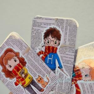 Harry Potter hűtőmágnes szett 3 db (colorshop) - Meska.hu