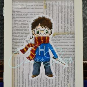 Harry Potter print A4, Kollázs, Művészet, Fotó, grafika, rajz, illusztráció, Nem árulok el nagy titkot, ha azt mondom, hogy a Harry Potter könyveket és filmeket rengetegen szere..., Meska