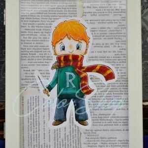 Ron Weasley (Harry Potter) print A4, Grafika & Illusztráció, Művészet, Fotó, grafika, rajz, illusztráció, Nem árulok el nagy titkot, ha azt mondom, hogy a Harry Potter könyveket és filmeket rengetegen szere..., Meska