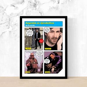 Fotókból képregény stílusú egyedi személyreszabott képek poszterek Rólad-Neked! KARÁCSONYI AJÁNDÉK ÖTLET (15x20 cm), Otthon & Lakás, Dekoráció, Kép & Falikép, Fotó, grafika, rajz, illusztráció, A képek illusztrációk! A Te példányodat, az általad küldött képek, és szövegek alapján fogjuk elkész..., Meska