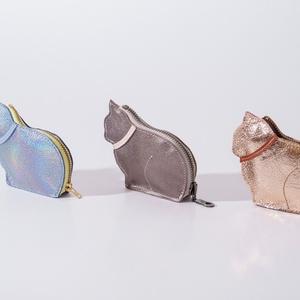 Second cat - bőr apró tartó (Coquette) - Meska.hu
