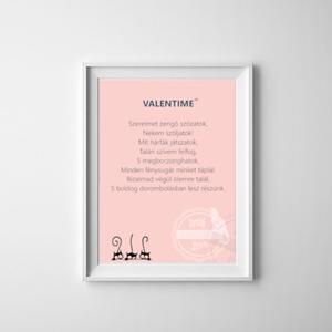 Valentime digitális kép A4, Otthon & Lakás, Dekoráció, Falra akasztható dekor, Fotó, grafika, rajz, illusztráció, Mindenmás, A kép Valentin napi ajándék, melyet e-mailben küldök el, tehát nem lesz postaköltség! Mérete A4-es m..., Meska