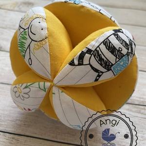 AKCIÓ - Montessori szétszedhető labda, Játék & Gyerek, 3 éves kor alattiaknak, Babalabda, Varrás, Meska