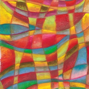 Mimikri, Művészet, Festmény, Pasztell, Fotó, grafika, rajz, illusztráció, Olajpasztell grafikámról készült, giclée művészi nyomat. Illusztrációnak is, vagy szoba falára ajánl..., Meska