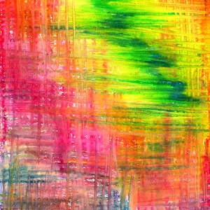 Green flash, Művészet, Festmény, Pasztell, Festészet, Fotó, grafika, rajz, illusztráció, Olajpasztell grafikámról készült, giclée művészi nyomat - az élénk színek rajongóinak. Illusztráción..., Meska