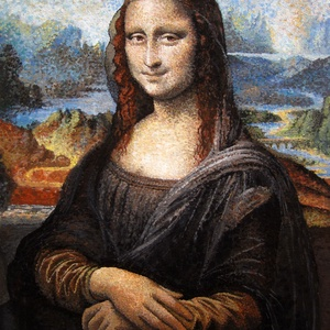 Mona Lisa - A3 méretű akril festmény, Művészet, Festmény, Akril, Festészet, Mona Lisa rajongók, figyelem! \nHa te is játszottál már a gondolattal, és megengedheted magadnak, mos..., Meska