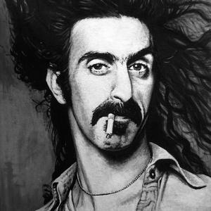 Frank Zappa - festmény, Művészet, Festmény, Akril, Festészet, Zene rajongók, figyelem! \nEz a Frank Zappát ábrázló, fekete-fehér festmény igazán stílusos dísze leh..., Meska