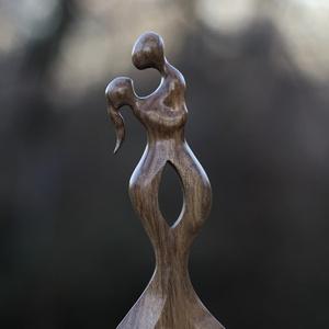 Te és Én - Diófa szobor (Rodizto) - Meska.hu