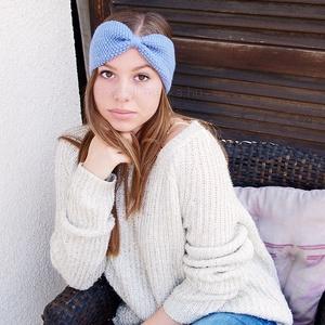 Kézzel kötött Saphire kék, divatos, fejpánt, hajpánt,  turbán fülvédő, Ruha & Divat, Hajdísz & Hajcsat, Hajráf & Hajpánt, Kötés, Shaphire kék, kézzel kötött, divatos fejpánt, hajpánt, turbán fülvédő.\n\nAzoknak a hölgyeknek ajánlom..., Meska