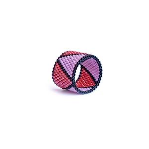 Peyote gyűrű - Meska.hu