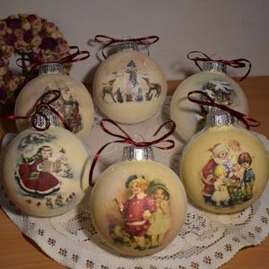 Karácsonyi üveggömb (Csalexandra) - Meska.hu