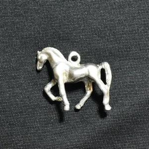 """Zsebóralánc függő, medál \""""lépő ló\"""" ezüstből, Ékszer, Karóra & Ékszeróra, Zsebóra, Ötvös, Az eredetivel teljesen megegyező mintát készítettem. A mintát viaszveszejtéses technikával megöntett..., Meska"""