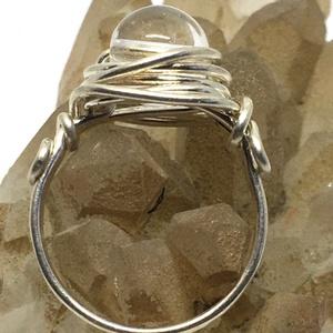 Egyköves hegyikristály gyűrű, Ékszer, Gyűrű, Szoliter gyűrű, Ékszerkészítés, Fémmegmunkálás, Meska