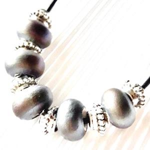 AKCIÓ - Metal lady gyöngy nyakék, statement nyaklánc, gyöngy ékszer, Ékszer, Nyaklánc, Statement nyaklánc, Ékszerkészítés, Gyöngyfűzés, gyöngyhímzés, AKCIÓ: 3 db nyakék egy kosárban vásárlásakor a 3. árából 50 % engedményt adok. 4 db gyöngyfűzött nya..., Meska