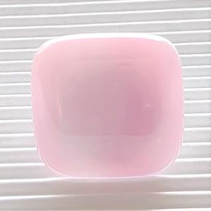 Fátyolos rózsaszín üveg gyűrű, üvegékszer - ékszer - gyűrű - statement gyűrű - Meska.hu