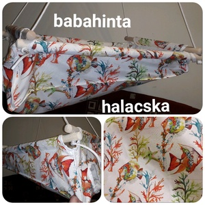 Babahinta - sokféle minta, RUGÓVAL, Hinta & Kerti játék, Játék & Gyerek, Varrás, Csomózás, Sokféle mintával kapható babahinta. Vásárláskor a megjegyzésbe be kell írni a választott mintát, vag..., Meska