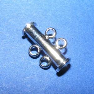 Csőkapocs (331/B minta/1 db) - 2 soros (csimbo) - Meska.hu