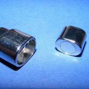 Mágneses kapocs (319/B minta/1 db) - nikkel (csimbo) - Meska.hu