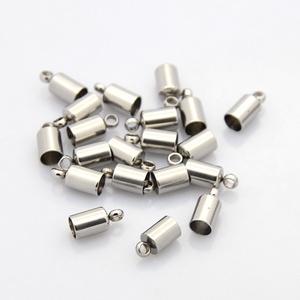 Nemesacél bőrvég (STAS-6 minta/1 db) - 10x4,5 mm (csimbo) - Meska.hu