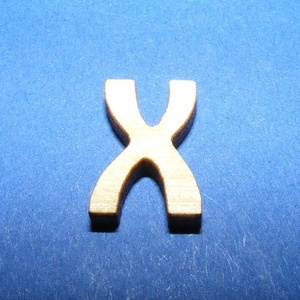 Rusztikus fa betű (15x10 mm) - X, Fa,  Rusztikus fa betű - X    Mérete: 15x10 mmAnyaga: rétegelt lemezAnyagvastagság: 3 mm Az ár egy ter..., Meska