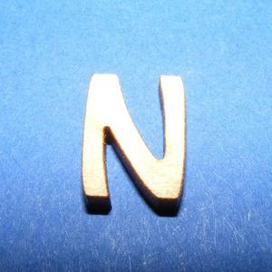 Rusztikus fa betű (20x15 mm) - N, Fa, Famegmunkálás, Egyéb fa, \nRusztikus fa betű - N\n\r\n\r\n\nMérete: 20x15 mmAnyaga: rétegelt lemezAnyagvastagság: 3 mm\nAz ár egy ter..., Meska