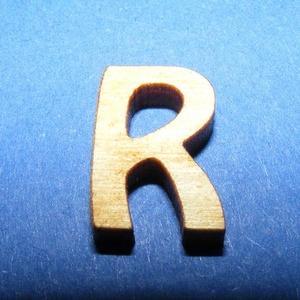 Rusztikus fa betű (20x15 mm) - R, Fa, Famegmunkálás, Egyéb fa, \nRusztikus fa betű - R\n\r\n\r\n\nMérete: 20x15 mmAnyaga: rétegelt lemezAnyagvastagság: 3 mm\nAz ár egy ter..., Meska