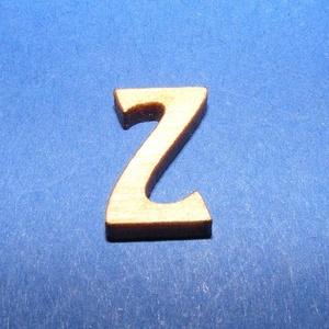 Rusztikus fa betű (20x15 mm) - Z, Fa,  Rusztikus fa betű - Z    Mérete: 20x15 mmAnyaga: rétegelt lemezAnyagvastagság: 3 mm Az ár egy ter..., Meska