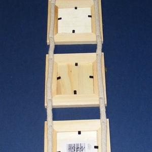 Fa hármas képkeret (10x10 cm/1 db) (csimbo) - Meska.hu