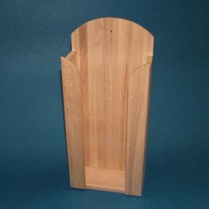 Papírzsebkendő tartó (nagy/1 db) - álló, Fa, Famegmunkálás, Egyéb fa, \nPapírzsebkendő tartó - nagy - álló\n\nMérete: 12,5x6,5x29 cmAnyaga: natúr fa, nem pácolt, nem kezelt\n..., Meska