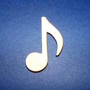 Fa alap (213/A minta/1 db) - kicsi hangjegy - fa - Meska.hu