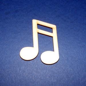 Fa alap (215/A minta/1 db) - kicsi dupla hangjegy - Meska.hu