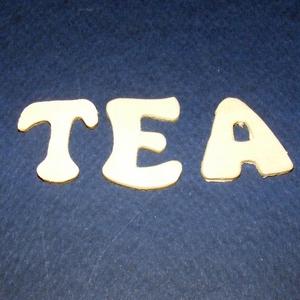 Fa felirat (25x25 mm/1 csomag) - TEA - Meska.hu