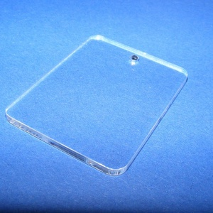 Akril medál alap-8/A (45x35 mm/1 db) - téglalap - fúrt - álló, Díszíthető tárgyak, Műanyag, Mindenmás, \nAkril medál alap-8/A - téglalap - álló - fúrt\n\nMérete: 45x35x2 mm\n\nAz anyag víztiszta (mindkét olda..., Meska