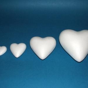 Hungarocell szív (12 cm), Díszíthető tárgyak, Hungarocell, Mindenmás, \n\nHungarocell szív\n\nMérete:12 cm\n\r\n\r\n\nTöbbféle méretben.Az ár egy darab termékre vonatkozik.\n\r..., Meska