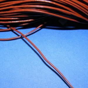 Hasított bőrszíj - 1 mm (3. minta/1 m) - csokoládé (csimbo) - Meska.hu