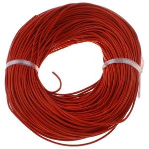 Hasított bőrszíj - 1,5 mm (9. minta/1 m) - piros - Meska.hu