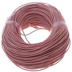 Hasított bőrszíj - 2 mm (2. minta/1 m) -  rózsaszín, Vegyes alapanyag, Egyéb alapanyag, Bőrművesség, \nHasított bőrszíj (2. minta) - tekercses - rózsaszín\n\nMérete: 2 mm átmérőjű\n\nValódi hasított marhabő..., Meska