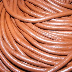 Hasított bőrszíj - 5 mm (10. minta/1 m) - csokoládé (csimbo) - Meska.hu
