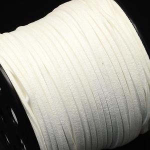 Szarvasbőr utánzat-11 (2,7x2 mm/1 m) - fehér (csimbo) - Meska.hu