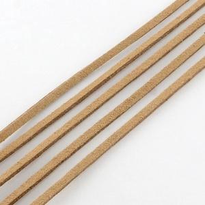 Szarvasbőr utánzat-9 (3x1,5 mm/1 m) - mogyoró (csimbo) - Meska.hu