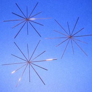 Drótcsillag - 12 ágú (11 cm/1 db) - felemás (csimbo) - Meska.hu