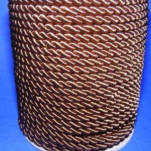 Sodrott zsinór - 5 mm (ZS47S/1 m) - barna (csimbo) - Meska.hu