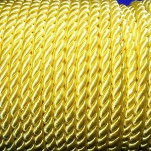Sodrott zsinór - 6 mm (ZS62S/1 m) - citromsárga (csimbo) - Meska.hu