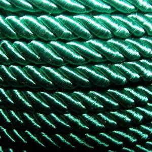 Sodrott zsinór - 6 mm (ZS74S/1 m) - zöld (csimbo) - Meska.hu