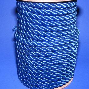 Sodrott zsinór - 8 mm (ZS22S/1 m) - kék - Meska.hu