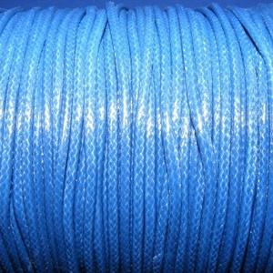 Viaszos zsinór - 2 mm (ZS36. minta/1 m) - sötétkék (csimbo) - Meska.hu