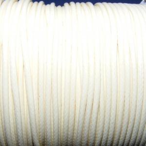 Viaszos zsinór - 2 mm (ZS51. minta/1 m) - vanília, Gyöngy, ékszerkellék,  Viaszos zsinór (ZS51. minta) - vanília  Nyakbavaló alap, karkötő alap alapanyaga. Fonáshoz, de bárm..., Meska