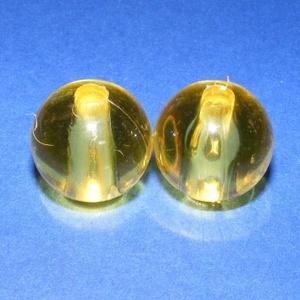 Akril gyöngy-21 (1 db) - sárga gömb, Gyöngy, ékszerkellék, Ékszerkészítés, Gyöngy,     Akril gyöngy-21 - gömb - sárga   Mérete: 20 mmFurat mérete: 5 mm  Az ár 1 darab termékre vonatk..., Alkotók boltja